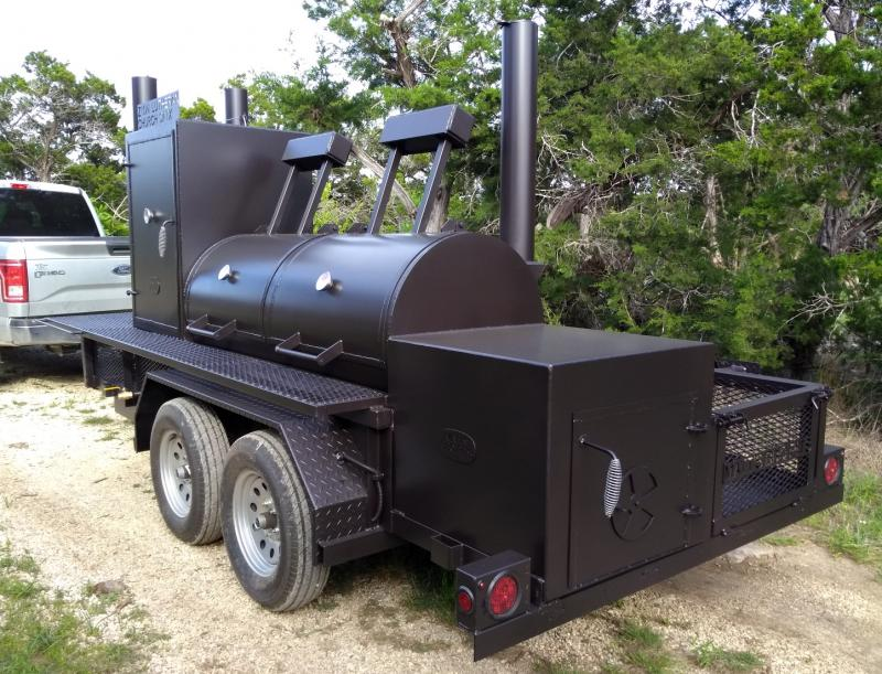 Bigfoot Smoker with Cabinet 30x72 a