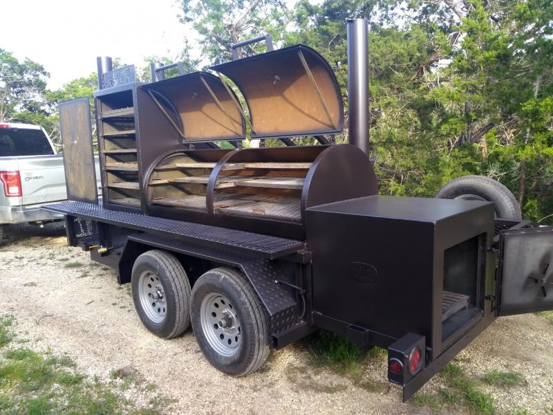 Bigfoot Smoker with Cabinet 30x72 e
