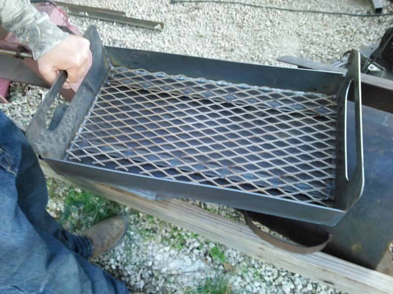lift out coal tray